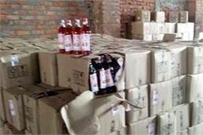 53 boxes of liquor recovered from the shop