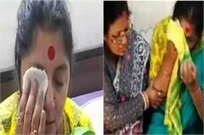 bjp leader locket chatterjee attacked