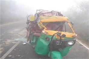 8 pilgrims killed in fierce road accident tampo and lorry in nellore andhra