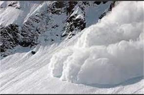 bro killed in snowavlanche kashmir