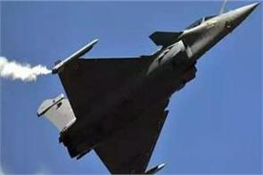 commanding officer transferred of first squadron of rafale fighter aircraft