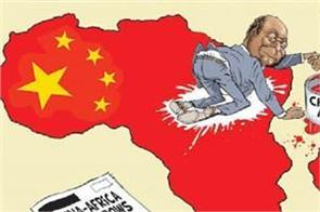 china s hold on the african continent is loosening