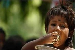 increasing hunger problem in india