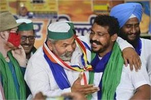 bhim army chief chandrashekhar azad joins farmers  protest in delhi