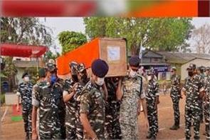 naxals attack security forces search operation top commander