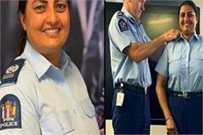 mandeep kaur became new zealand s first indian born female police officer