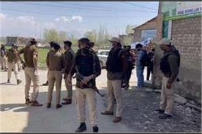encounter between security forces and militants in shopian