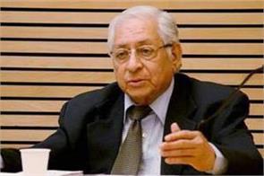 former attorney general soli sorabjee died from corona