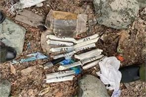 15 sticks of plastic explosives recovered in kupwara jammu and kashmir
