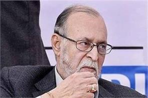 delhi lieutenant governor anil baijal corona infected