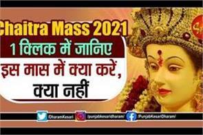chaitra mass 2021