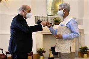 french foreign minister met jaishankar