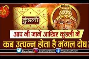 manglik dosha in horoscope in hindi