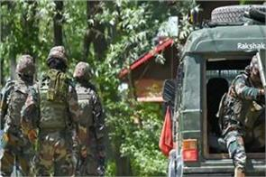 encounter between security forces and terrorists in shopian