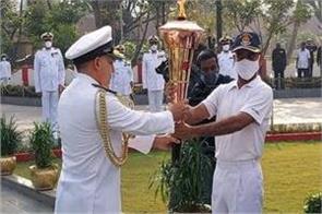 golden victory torch reaches jammu kashmir