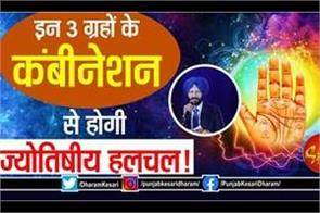 combination of these 3 planets will lead to astrological movement