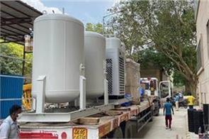 oxygen plant resumed in varanasi problem of covid