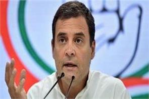 rahul said  modi pushing the country towards complete lockdown