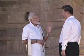 modi became the guide of jinping in ancient mahabalipuram