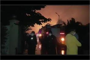 mumbai fire at nandolia factory in palghar 4 injured