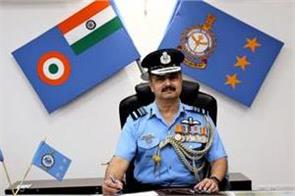 air marshal vr chaudhary takes charge of the head of the western air force