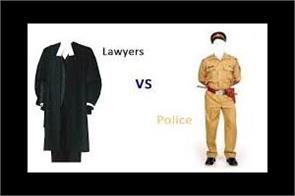 samba police and lawyers fight