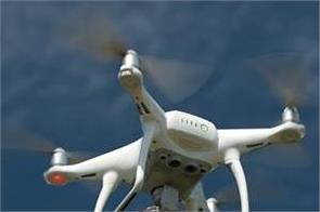 bsf firing on drone on indo pak border again