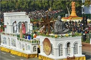 country celebrated 70th republic day glimpse of mahatma gandhi