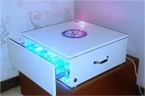 electronic gadget can be sanitized and currency notes