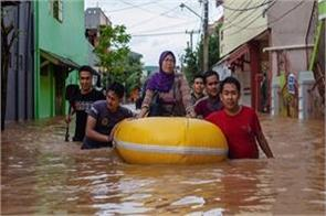 floods landslides in indonesia 59 killed so far
