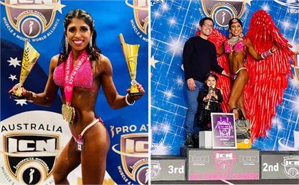 झज्जर की बेटी ने विदेश मे चमकाया नाम: आईसीएन चैम्पियनशिप में जीता...