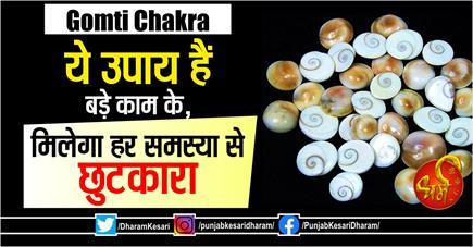 Gomti Chakra: ये उपाय हैं बड़े काम के, मिलेगा हर समस्या से छुटकारा
