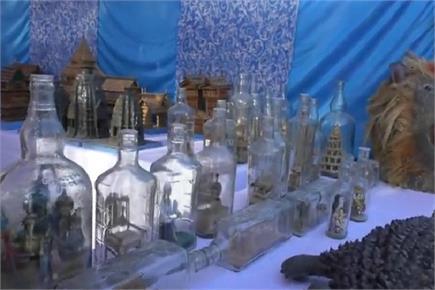 हिमाचल के इस शख्स ने बोतल में उतार दिए भगवान और ताजमहल (PICS)
