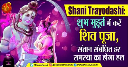 Shani Trayodashi: शुभ मुहूर्त में करें शिव पूजा, संतान संबंधित हर...