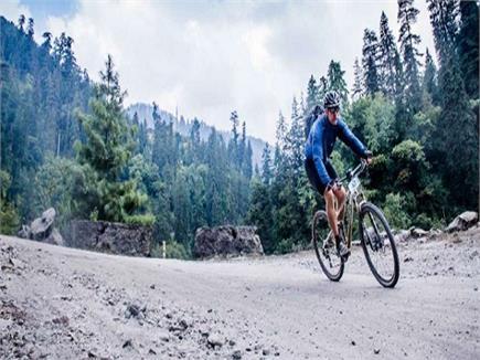 8वीं एमटीबी साइकिल रेस का रिज से हुआ आगाज(PICS)
