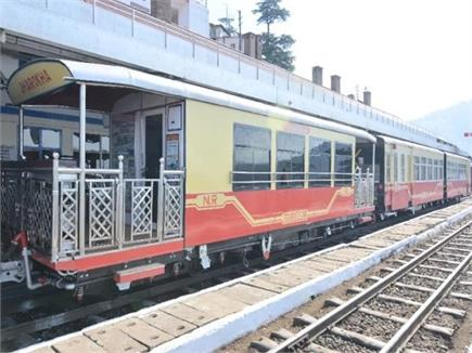कालका-शिमला ट्रैक पर Special Charted Coach Train शुरू (PICS)