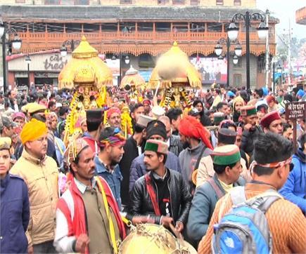 बारिश की बौछारों के साथ संपन्न हुआ अंतरराष्ट्रीय Shivratri Festival...