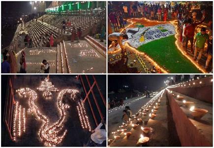 देव दीपावली की छटा देखने के लिए काशी में उमड़ा जनसैलाब, दिखा अद्भुत...