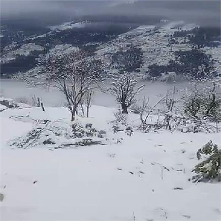 बर्फबारी का कुल्लू में देखिए खूबसूरत नजारा(PICS)
