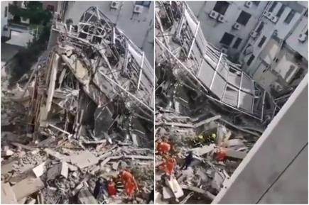 चीन में होटल ढहने से कम से कम आठ लोगों की मौत, 23 फंसे