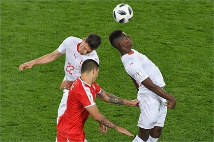 FIFA: सर्बिया और स्विटजरलैंड के बीच खेला गया रोचक मुकाबला