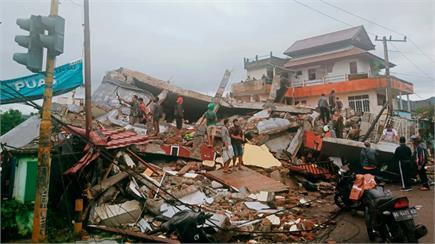 इंडोनेशिया में भूकमप की दिल दहलाने वाली तस्वीरें