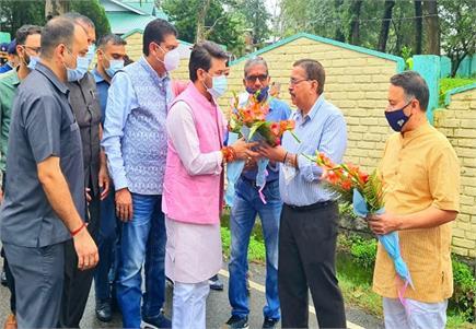 एचपीसीए द्वारा धर्मशाला में केंद्रीय मंत्री अनुराग ठाकुर, प्रदेश...