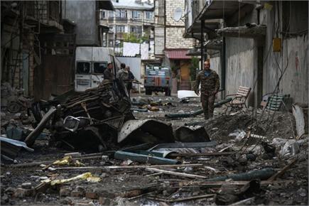 अर्मेनिया-अजरबैजान जंग से तबाही के मंजर