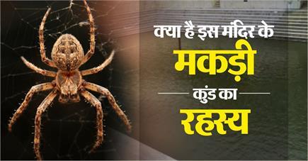 क्या है इस मंदिर के मकड़ी कुंड का रहस्य कालनेमि