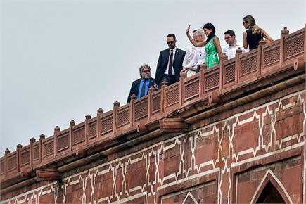 अमरीकी राजदूत निक्की हेली पहुंची भारत, पहले दिन की हुमायूं के मकबरा...