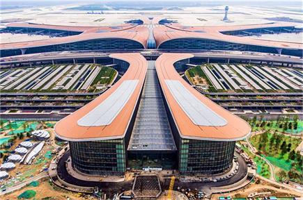 चीन ने बनाया दुनिया का सबसे बड़ा एयरपोर्ट, तस्वीरें देख कहेंगे-वाह...