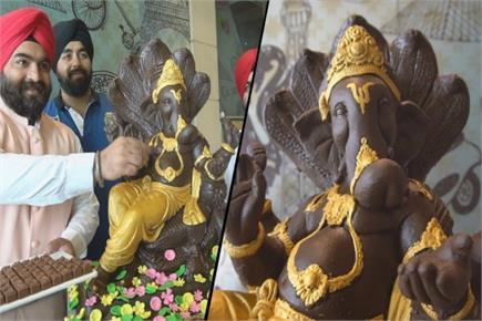 देशभर में गणपति की इस मूर्ति की धूम, 10 दिन में 20 शेफ ने 65 किलो...