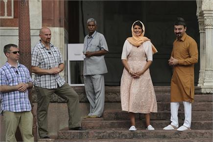 अमरीकी राजदूत ने की जामा मस्जिद और गुरूद्वारा श्री सीस गंज की सैर