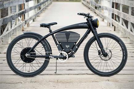 ऊबड़-खाबड़ रास्तों पर आसानी से सफर करवाएगा Vintage e-bike